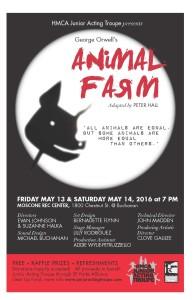 animal farm poster 11x17